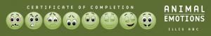 certificaat animal emotions